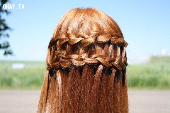 ảnh tóc đẹp,tết tóc