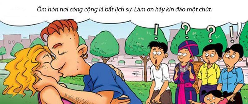Hí họa: Những điều cấm kỵ khi tới Lào