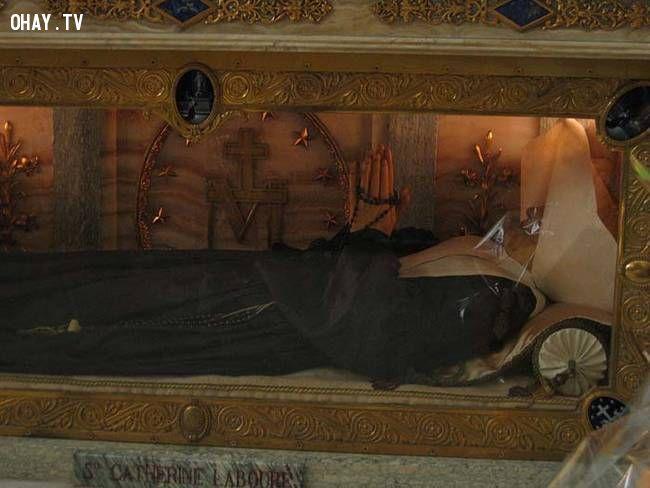 ảnh xác chết nguyên vẹn,thi thể nguyên vẹn,ướp xác,xác chết không phân hủy,phân hủy xác chết