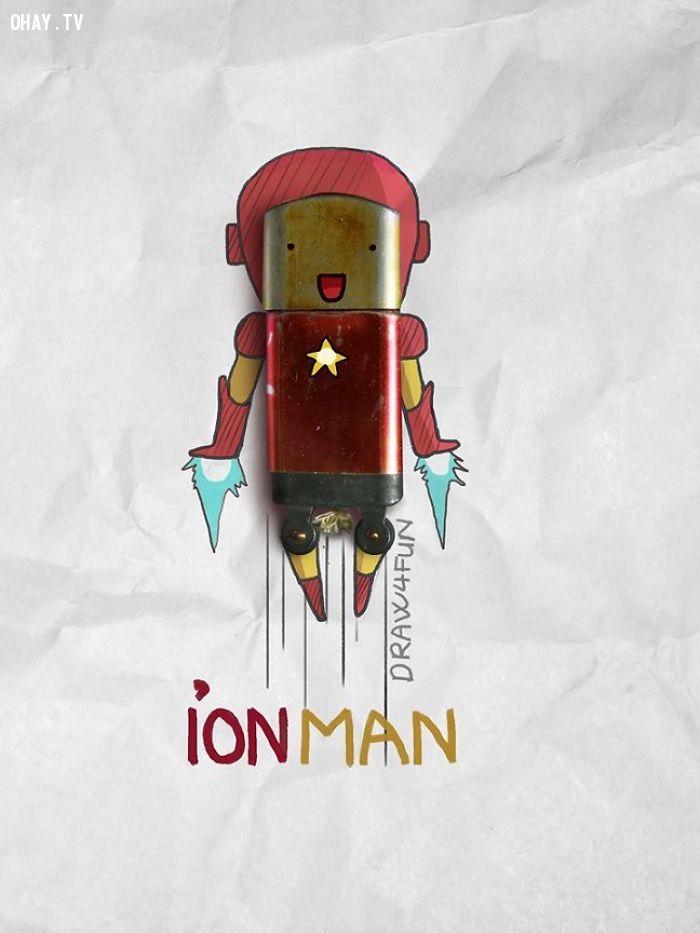 ảnh siêu anh hùng,siêu anh hùng việt nam,sáng tạo,ảnh sáng tạo