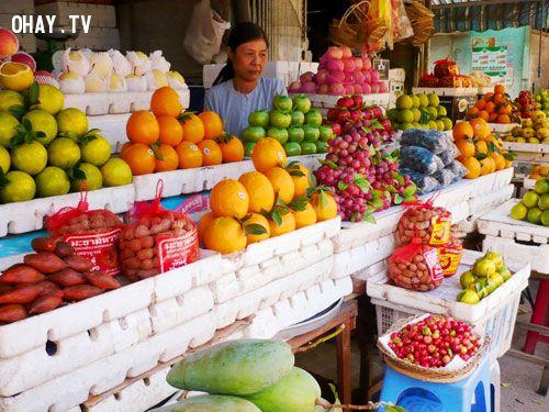 hoa quả Trung Quốc