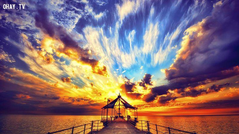 ảnh Đám mây,Mây vũ tích,Hình dáng mây kỳ lạ,Sương mù,Màu sắc của mây