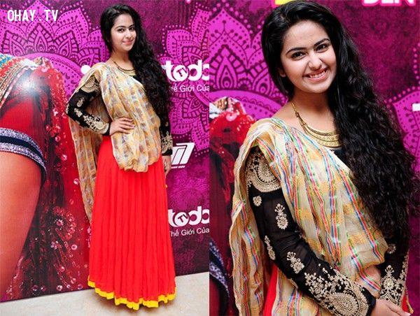 Nữ diễn viên Avika Gor đóng vai Anandi