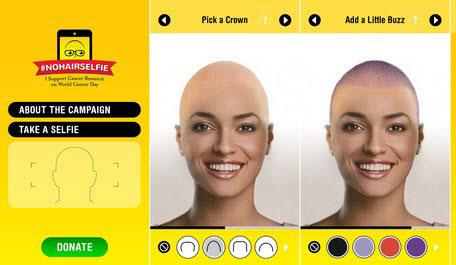3 ứng dụng điện thoại giúp bạn cạo trọc đầu