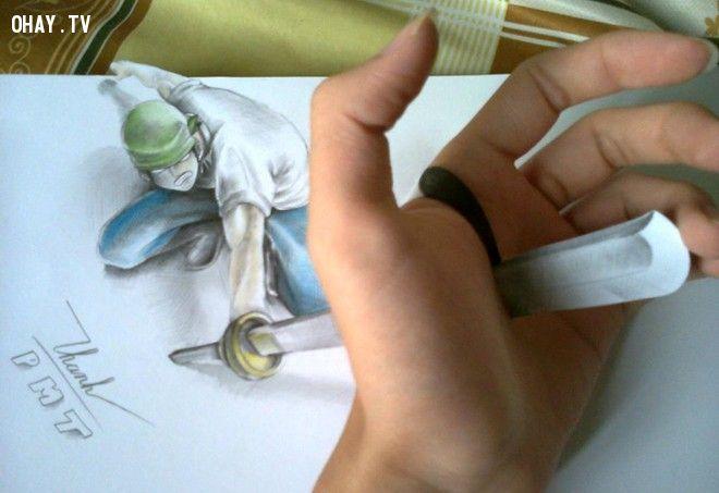 ảnh tranh vẽ 3d,vẽ 3d,tranh 3d,nghệ thuật 3d