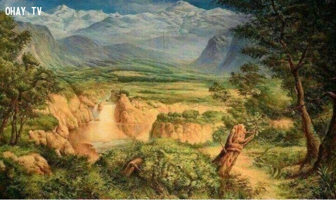 ảnh thử độ tinh mắt,tranh chứa 12 con vật,trắc nghiệm vui