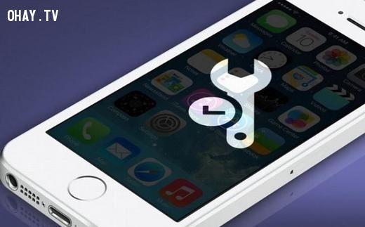 Màn hình iphone bị vô hiệu hóa