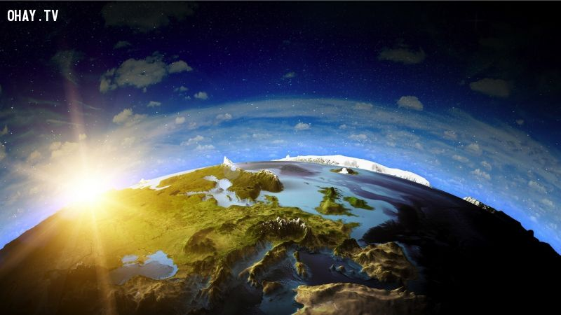 ảnh trái đất,có thể bạn chưa biết,sự thật về trái đất