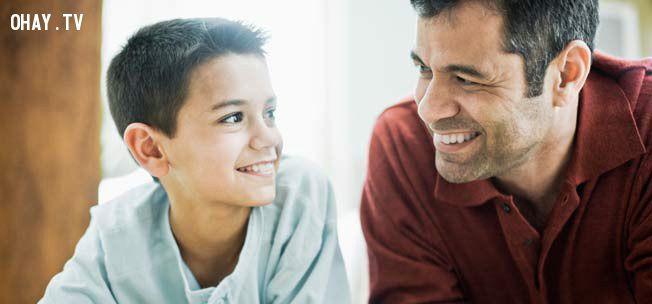 ảnh bình đẳng giới,dạy dỗ con,cha mẹ,con cái,cách dạy con
