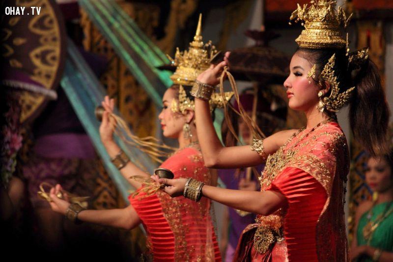 Thái Lan là quốc gia Đông Nam Á duy nhất chưa từng bị thực dân đô hộ. Ảnh: Posture.