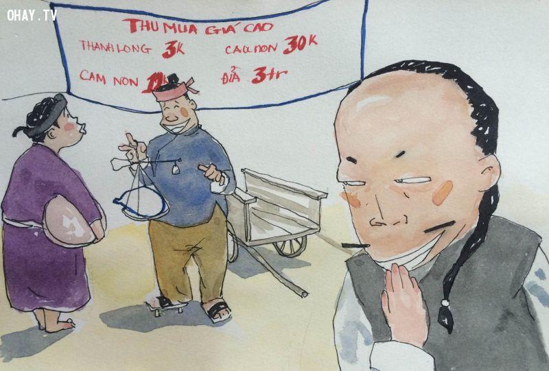 Mánh khóe thương lái Trung Quốc thu mua nông sản Việt