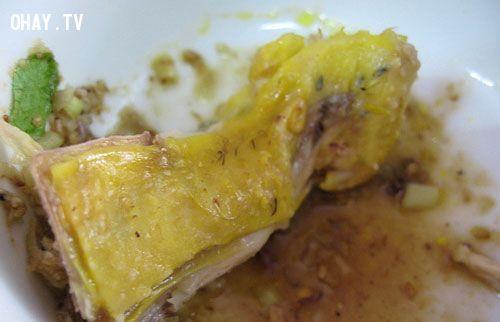 ảnh thịt gà,những bộ phận không nên ăn của gà