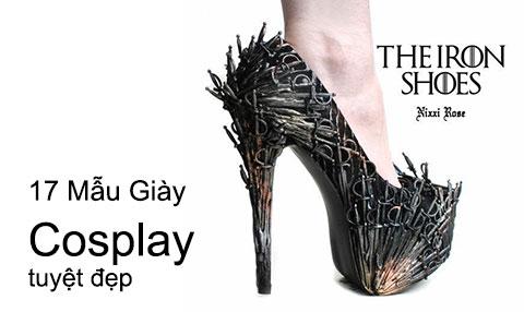 17 Mẫu Giày Cosplay Bạn Nữ Nào Cũng Mê Tít