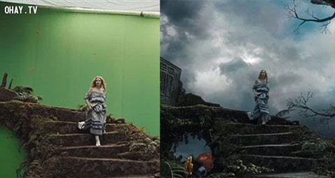 16 cảnh phim trước và sau xử lý