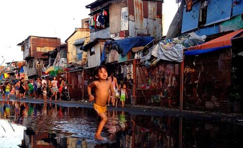 Cận cảnh những khu ổ chuột trên thế giới.