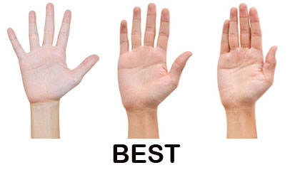 Nhìn bàn tay đoán tính cách