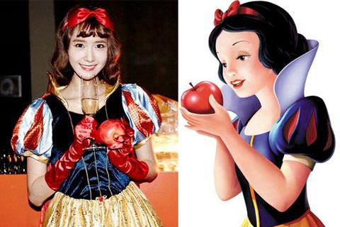 16 thần tượng Hàn Quốc trông giống như những nhân vật nào của Disney?