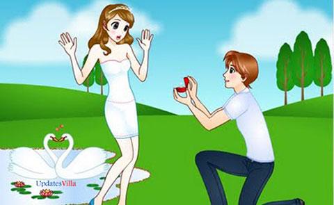 10 gợi ý cho các chàng trai cầu hôn bạn gái