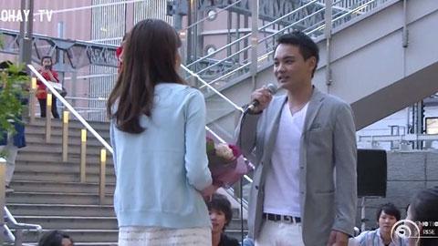 Màn cầu hôn bằng flashmob lãng mạn của chàng trai Nhật Bản