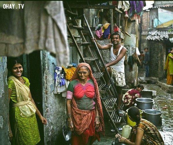 những người phụ nữ rất đặc trưng Ấn Độ