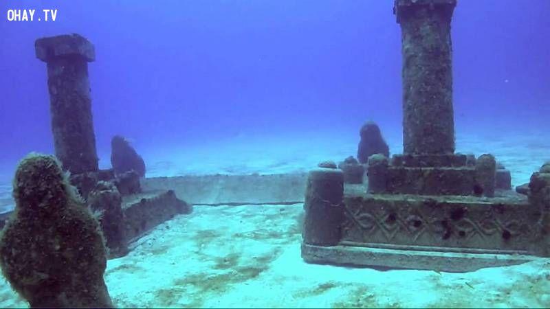 ảnh thành phố dưới nước,thành phố cổ đại dưới nước