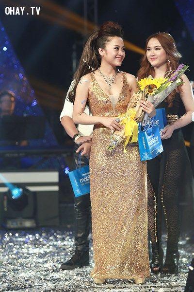 Hình ảnh đăng quang của cô ca sĩ trẻ Thanh Ngọc