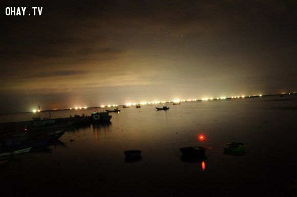 Lý Sơn về đêm