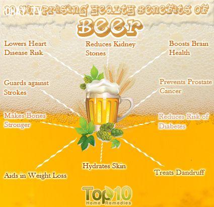 ảnh tác dụng của bia,lý do nên uống bia,uống bia