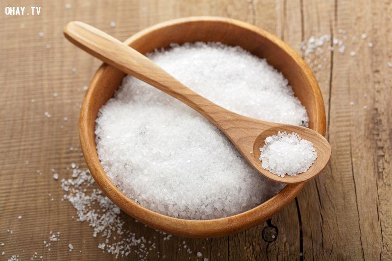 ảnh công dụng của muối,muối giúp giảm béo,muối giúp trắng da