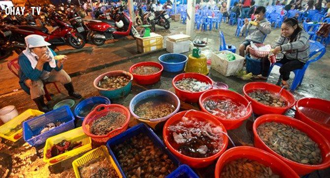 chọn lựa hải sản