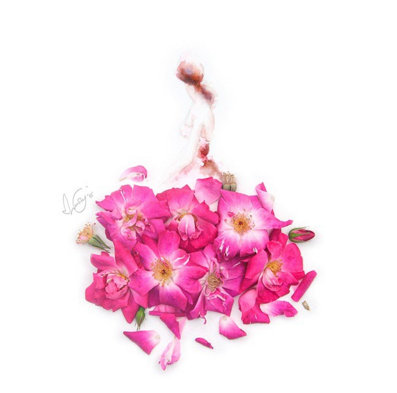 ảnh Lim Zhi Wei,cô gái mặc váy hoa,sáng tạo