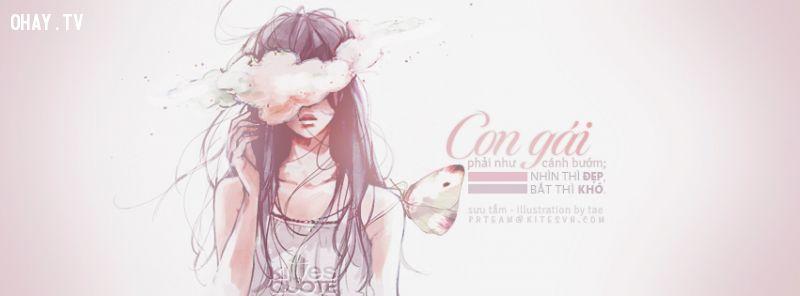 con gái như cánh bướm