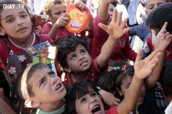 ảnh Zaatari,trại tị nạn Zaatari,người tị nạn,nghèo đói,liên hợp quốc