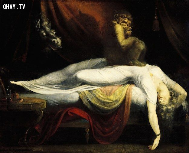 bóng đè, sleep paralysis