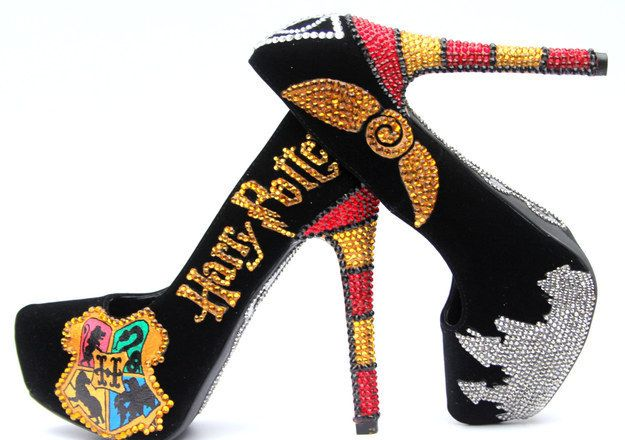 shoe, giày cao gót, harry poster