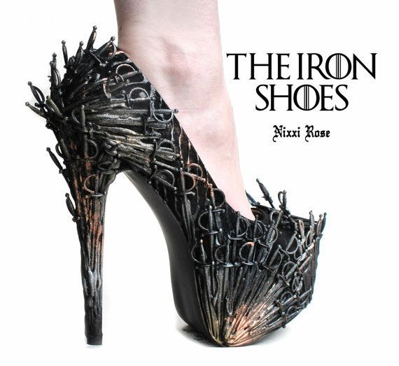 Shoe, Giày, Giày cao gót, Game Of Thrones