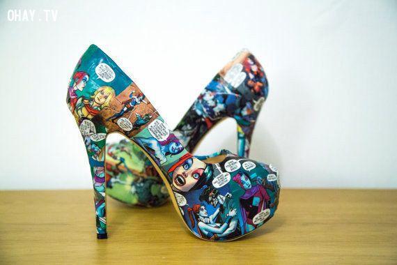 shoe, giày, giày cao gót, comic, cosplay