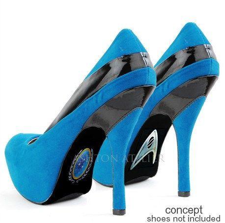 shoe, giày cao gót, star trek