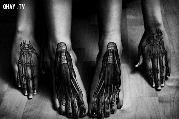 Top 15 mẫu hình xăm ở chân đẹp và đầy sáng tạo