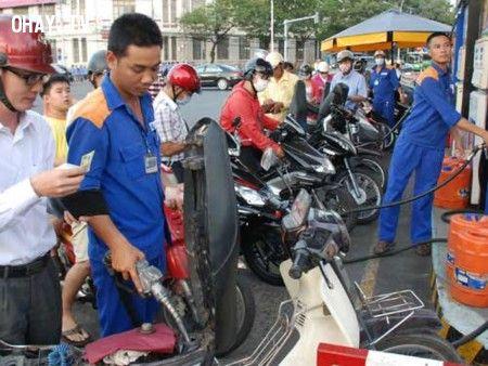 đánh cắp xăng dầu