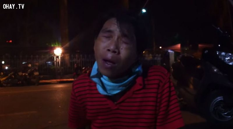 ảnh người hát rong,hát rong đất cảng,người nhiễm hiv,hiv giai đoạn cuối,video cảm động