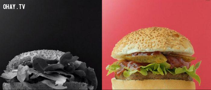 ảnh quảng cáo,quảng cáo đồ ăn nhanh,sự thật quảng cáo