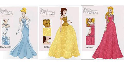 Những chiếc váy Disney biến tấu cực đẹp