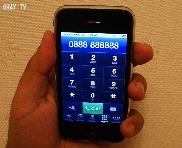 số điện thoại tử thần