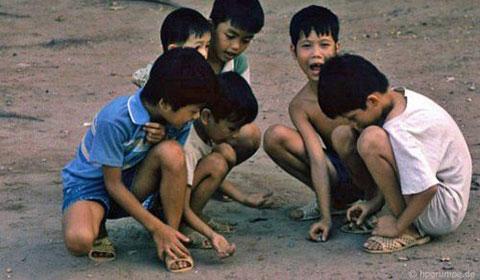 Những trò chơi làm bạn muốn quay về với tuổi thơ