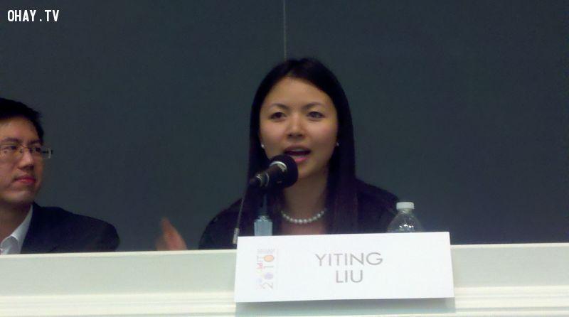 Lưu Diệc Đình trong em phải đến Harvard học kinh tế