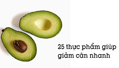 TOP 25 loại thực phẩm giúp bạn giảm cân cực nhanh