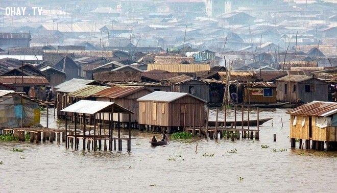 ảnh ổ chuột,các khu ổ chuột lớn,khu ổ chuột Dharavi,khu ổ chuột Makoko,các khu ổ chuột ở Mnila,khu ổ chuột Việt Nam