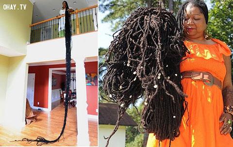 Người phụ nữ với mái tóc dài nhất thế giới!