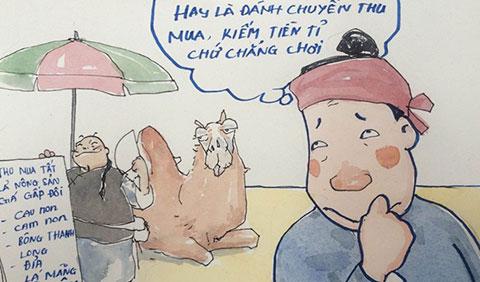 Lật tẩy mánh của thương lái Trung Quốc mua nông sản Việt